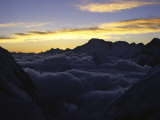 Sea of Clouds Over Pumori Photographic Print by Michael Brown