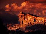 La Varella Massif, Kreuzkrofel Gr (Sasso Croce), From Pisciadu Hut, Gruppo Sella, Dolomites, Italy Fotografisk trykk av Witold Skrypczak