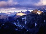 Sunrise Over Andes Near Refugio Otto Meiling, Nahuel Huapi National Park, Argentina Photographic Print by Michael Taylor