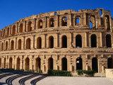 Exterior of Colusseum, a Roman Monument, El-Jem, Tunisia Photographic Print by Pershouse Craig