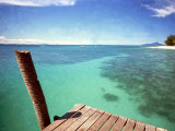 Waters of Pulau Babi Besar Seen from Jetty Islands Malaysia, 1990s Photographic Print