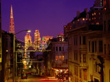 Downtown at Dusk, San Francisco, U.S.A. Photographic Print by Thomas Winz