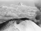 Craters Atop Mount St. Helens Stand Silent Photographic Print