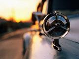 Side Mirror on 1950s Car, Santiago De Cuba, Cuba Photographie par Christopher P Baker