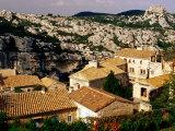 Hilltop Village in Les Alpilles, Les Baux De Provence, France Photographic Print by Jean-Bernard Carillet