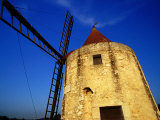 Moulin De Daudet (Daudet's Windmill), Fontvieille, France Photographic Print by Jean-Bernard Carillet