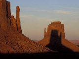 Sunrise at Mitten, Monument Valley, Utah, USA Photographic Print by Joanne Wells