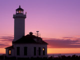Pt Wilson Lighthouse, Entrance to Admiralty Inlet, Washington, USA Photographic Print by Jamie & Judy Wild