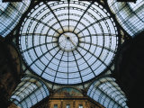 Glass Dome of Galleria Vittorio Emanuele II, Milan, Italy Photographic Print by Martin Moos
