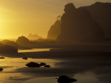 Sunset on Point of Arches, Olympic National Park, Washington, USA Photographic Print by Adam Jones