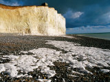 Seven Sisters, White Cliffs Coast, United Kingdom Photographic Print by Wayne Walton