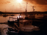 Sunset at Wivenhoe Essex Photographic Print