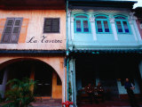 Exterior of Buildings on Emerald Hill Rd, Singapore, Singapore Photographic Print by Phil Weymouth