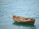 Traditional Lapstrake Rowboat, Sognefjord, Norway Photographic Print by Russell Young