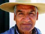 Portrait of Old Guacho (Cowboy), Cachi, Argentina Lmina fotogrfica por Michael Taylor