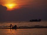 Sunset on Tioman Island Malaysia, 1990s Photographic Print