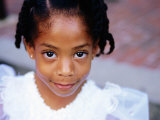 Portrait of Young Girl, Baton Rouge, U.S.A. Photographic Print by Oliver Strewe