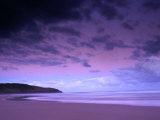 Sunset Over Still Beach, Hat Head National Park, Australia Papier Photo par Regis Martin