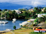 Town Yacht Marina, Castries, St. Lucia Photographic Print by Richard Cummins