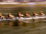 Crew Rowing, Seattle, Washington, USA Reproduction photographique par Terry Eggers