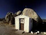 Catholic Church, Catavina Desert, Baja Region, Mexico Photographic Print by Gavriel Jecan