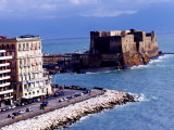 Castel Dell'Ovo, Naples, Italy Photographic Print by Jean-Bernard Carillet