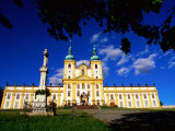 Baroque Monastery, Svaty Kopecek, Czech Republic Photographic Print by Richard Nebesky