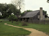 Johnson Homestead, LBJ National Historic Park, Johnson City, Texas, USA Photographic Print by Adam Jones