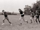 The Who, Roger Daltry, Pete Townshend, John Entwhistle and Kenny Jones, August 1979 Fotografie-Druck