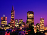 Transamerica Pyramid and City Buildings, San Francisco, United States of America Photographie par Richard Cummins