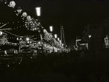 The World Famous Blackpool Illuminations in the Lancashire Seaside Resort Photographic Print