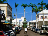 Town Street, Basseterre, St. Kitts & Nevis Photographic Print by Wayne Walton