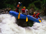 Rafting on the Chiriqui River, Panama Photographic Print by Alfredo Maiquez