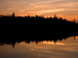 Sunset over Bass Harbor Marsh, Acadia National Park, Maine, USA Photographic Print by Jerry & Marcy Monkman