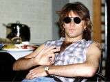Jon Bon Jovi American Pop Singer for Band Bon Jovi in Germany Photographie