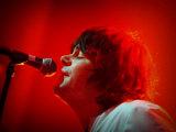 Glasgow Vocalist Tim Burgess, Charlatans Carling Academy 2004 Fotografická reprodukce