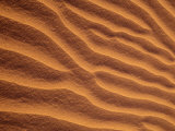 Sand Dunes Furrowed by Winds, Morocco Photographic Print by John & Lisa Merrill
