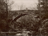 Linnolds Bridge Hexham Northumberland, a Fine Single-Arch Stone Bridge Photographic Print