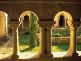 Cloisters, Ganagobie Abbey, France Photographic Print by Nik Wheeler