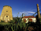 St. Nicholas Abbey Sugar Mill, St. Peter Parish, Barbados, Caribbean Photographic Print by Greg Johnston
