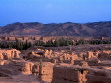 Ancient Ruins of Gaochang (Tang Dynasty), Silk Road, China Photographic Print by Keren Su