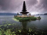 Ulun Danu Temple, Bali, Indonesia Photographic Print by Gavriel Jecan