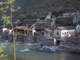 Ancient Town of Ningchang on the Yangtze River, Three Gorges, China Photographic Print by Keren Su
