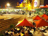 Restaurant in Federation Square, Melbourne, Victoria, Australia Photographic Print by David Wall
