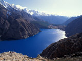 Phoksumdo Lake Dolpo, Nepal Photographic Print by Vassi Koutsaftis