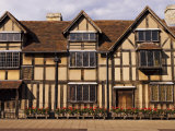 Shakespeare's Birthplace, in Henley Street, Stratford-Upon-Avon, United Kingdom Photographic Print by Glenn Beanland