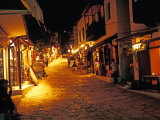 Uzun Bazaar Street, Kas, Turquoise Coast, Turkey Photographic Print by Nik Wheeler