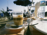 An Espresso on the Table Photographic Print by Heather Perry