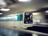 Metro, Paris, France Photographic Print by David Barnes