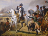 Painting of Napoleon in Hall of Battles, Versailles, France Photographic Print by Lisa S. Engelbrecht